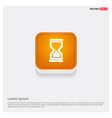 hour glass icon vector image