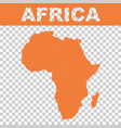 map of africa flat vector image vector image