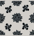 seamless pattern with hand drawn stylized vector image vector image