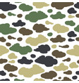 camouflage background seamless pattern for your vector image vector image