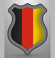 flag of germany badge and icon vector image vector image