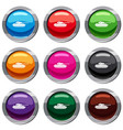 tank set 9 collection vector image vector image