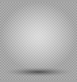 light with shadow empty template vector image