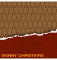 chocolate christmas background eps10 vector image vector image