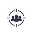 focus group target audience icon