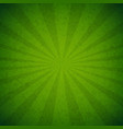 green burst poster vector image