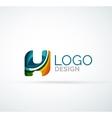 letter logo vector image vector image