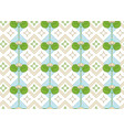 ornament of the lotus seamless floral pattern vector image vector image