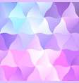 pastel cold pink low poly backdrop design vector image vector image