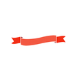 Wave ribbon Icon vector image vector image