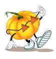 a pumpkin vector image