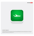 airplane accident icon vector image vector image
