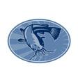 bullhead catfish vector image vector image