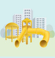 city playground vector image vector image