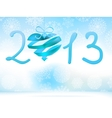 Happy New Year 2013 blue EPS8 vector image