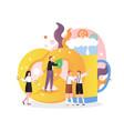 oktoberfest celebration concept for web vector image