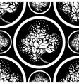 seamless tree pattern 07 vector image vector image