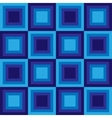 squares floor seamless pattern blue colors vector image vector image