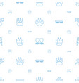 track icons pattern seamless white background vector image vector image