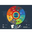circle for infographic vector image