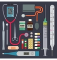 Hospital - Medical Instruments vector image