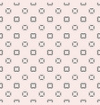 minimalist seamless pattern with squares vector image