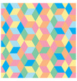multicolor polygon pattern for background vector image