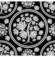 seamless tree pattern 08 vector image vector image