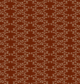 Abstract background with rounded shapes brown vector image vector image