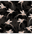 beautiful seamless patterncolibri vector image vector image