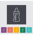 Feeding bottle vector image vector image
