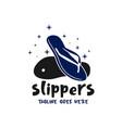 flip-flops modern logo vector image vector image