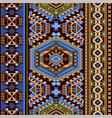 folk ornamental seamless pattern geometric ethnic vector image vector image