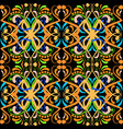 vintage colorful paisley seamless pattern vector image vector image