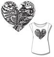 women t shirt print vector image vector image