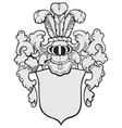 aristocratic emblem No10 vector image vector image
