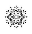 beautiful mandala stock vector image vector image
