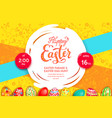 Easter bright background