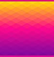 poligonal background of rhombus gradient colors vector image
