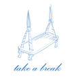 take a break concept vector image
