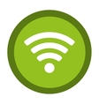 wifi sign isolated icon vector image vector image