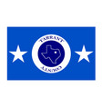 flag of tarrant county in texas usa vector image