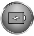 Full battery icon vector image vector image