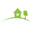 Real estate construction logo vector image vector image