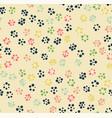 seamless pattern circle vector image vector image