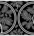 seamless tree pattern 09 vector image vector image