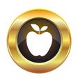 apple icon vector image vector image