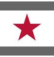 california lone star flag 1836 vector image vector image