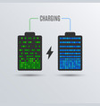cell phone or smartphone electric charge battery vector image
