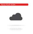 cloud icon for web business finance and vector image vector image
